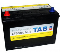 Автомобильный аккумулятор  Tab 105 Ач 306x175x225