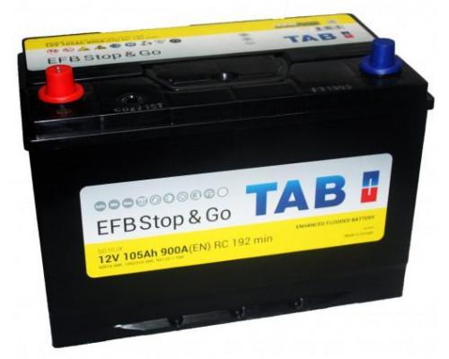 Автомобильный аккумулятор  Tab 105 Ач