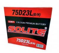 Автомобильный аккумулятор  Solite 65 Ач 230x172x225