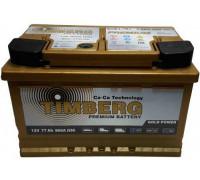 Автомобильный аккумулятор  Timberg 77 Ач 278x175x175