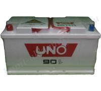 Автомобильный аккумулятор  Uno 90 Ач 353x175x190