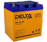 Аккумулятор Delta HR 12-26 (12 вольт 26 ампер)