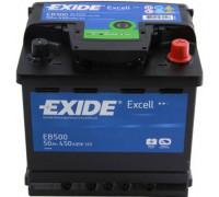 Автомобильный аккумулятор  Exide 50 Ач 207x175x190