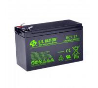 Аккумулятор для ИБП/UPS BB Battery BC 7-12 (12 вольт 7 ампер)