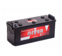 Грузовой аккумулятор Giver 132 Ач 513x189x195