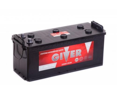 Грузовой аккумулятор Giver 132 Ач