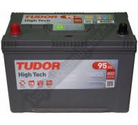 Автомобильный аккумулятор  Tudor 95 Ач 306x173x222