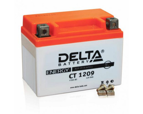 Мото аккумулятор Delta 9 Ач