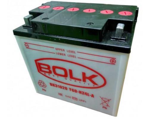 Мото аккумулятор Bolk 25 Ач