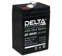 Аккумулятор для ИБП/UPS Delta DT 6045  (6 вольт 4.5 ампер)