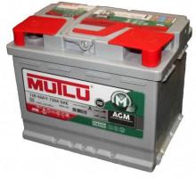 Автомобильный аккумулятор  Mutlu 60 Ач 242x175x190