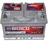 Автомобильный аккумулятор  Mutlu 66 Ач 278x175x190