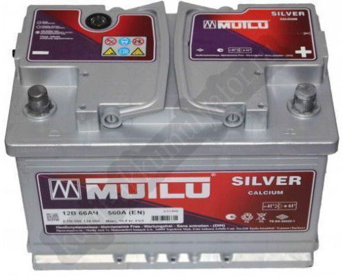 Автомобильный аккумулятор  Mutlu 66 Ач