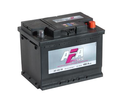 Автомобильный аккумулятор  Afa 55 Ач