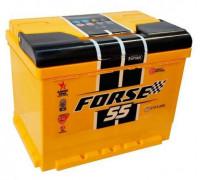 Автомобильный аккумулятор  Forse 55 Ач 242x175x190