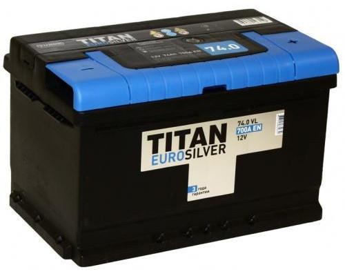 Автомобильный аккумулятор  Titan 74 Ач