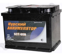 Автомобильный аккумулятор  Курский 60 Ач 242x175x190