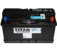 Автомобильный аккумулятор  Titan 110 Ач 353x175x190
