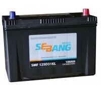 Автомобильный аккумулятор  Sebang 100 Ач 306x173x225