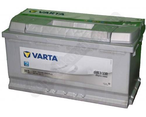 Автомобильный аккумулятор  Varta 100 Ач