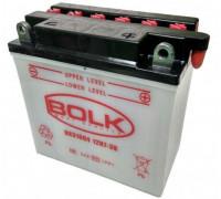 Мото аккумулятор Bolk 7 Ач 135x75x133