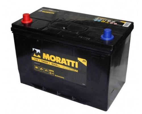 Автомобильный аккумулятор  Moratti 100 Ач