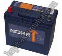 Автомобильный аккумулятор  Norr 45 Ач 238x129x227