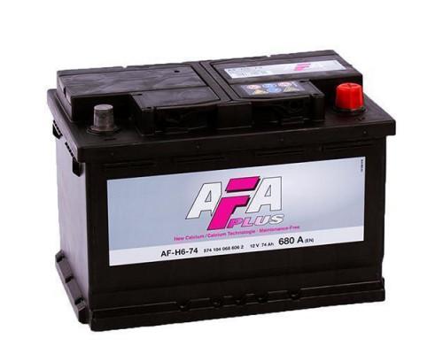 Автомобильный аккумулятор  Afa 75 Ач