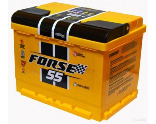 Автомобильный аккумулятор  Forse 55 Ач