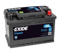 Автомобильный аккумулятор  Exide 65 Ач 278x175x175