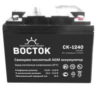Автомобильный аккумулятор  Восток 40 Ач 198x166x171