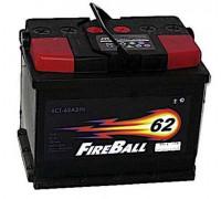 Автомобильный аккумулятор  Fire Ball 62 Ач 242x175x190