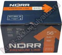 Автомобильный аккумулятор  Norr 55 Ач 242x175x175