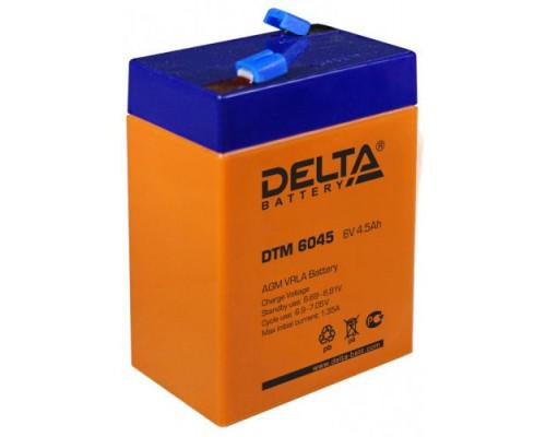 Аккумулятор для ИБП/UPS Delta DTM 6045 (6 вольт 4.5 ач)