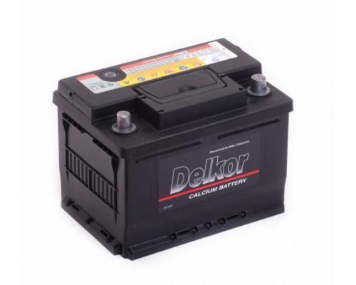 Автомобильный аккумулятор  Delkor 61 Ач