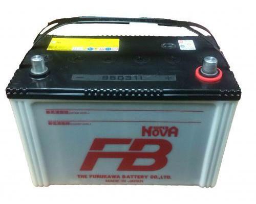 Автомобильный аккумулятор  Fb 80 Ач