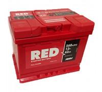 Автомобильный аккумулятор  Red 62 Ач 242x175x190