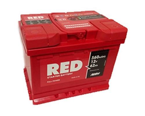 Автомобильный аккумулятор  Red 62 Ач