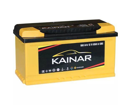 Автомобильный аккумулятор  Kainar 100 Ач