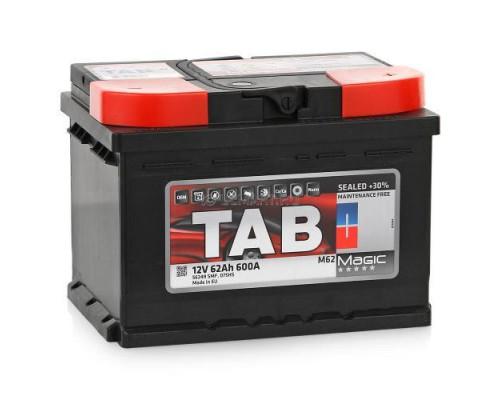 Автомобильный аккумулятор  Tab 62 Ач