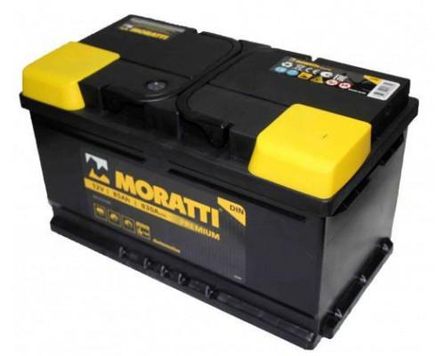 Автомобильный аккумулятор  Moratti 85 Ач