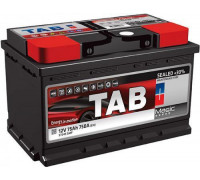 Автомобильный аккумулятор  Tab 75 Ач 278x175x175