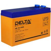 Аккумулятор  Delta HR 12-24 W (12 вольт 6 ампер)
