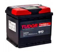 Автомобильный аккумулятор  Tudor 50 Ач 207x175x190