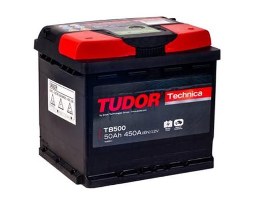 Автомобильный аккумулятор  Tudor 50 Ач