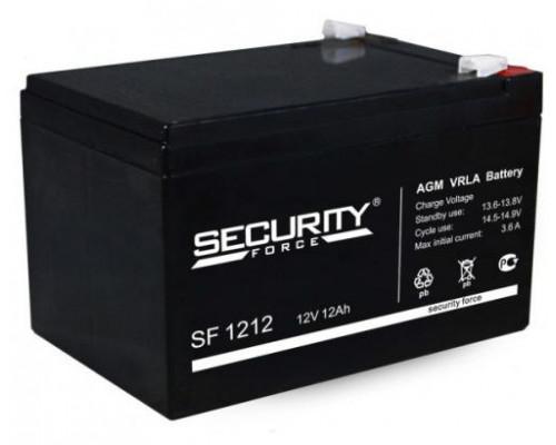Аккумулятор Security Force SF 1212 (12 вольт 12 а.ч)