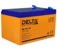 Аккумулятор Delta HR 12-15 (12 вольт 15 ач)