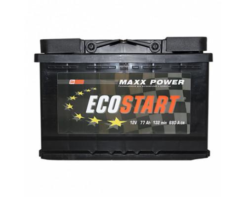 Автомобильный аккумулятор  Ecostart 77 Ач