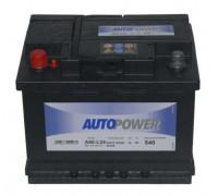 Автомобильный аккумулятор  Autopower 60 Ач 242x175x190