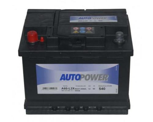 Автомобильный аккумулятор  Autopower 60 Ач